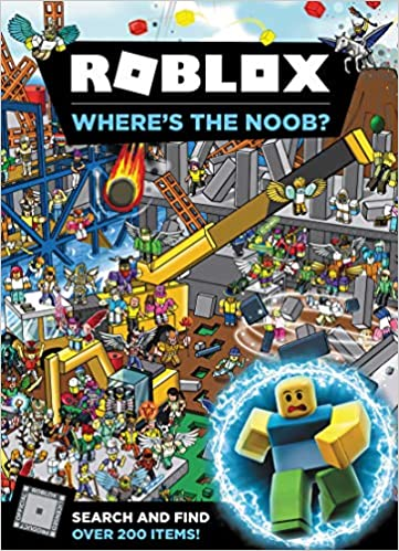 Roblox Wheres The Noob Official Roblox 9780062950185 Amazon