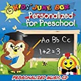 """Children's Personalized SING YOUR NAME Music CD - Personalized For Preschool - """"CUSTOMIZE WHEN ORDERING"""""""