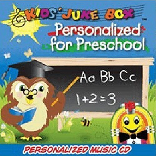 Gombita Enterprises Children's Personalized SING YOUR NAME Music CD - Personalized For Preschool -