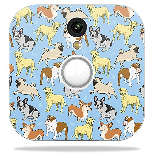 MightySkins Skin for Blink Home Security Camera - Puppy Party | Protective, Durable, and Unique Vinyl Decal wrap Cover | Easy to Apply, Remove, and Change Styles | Made in The USA