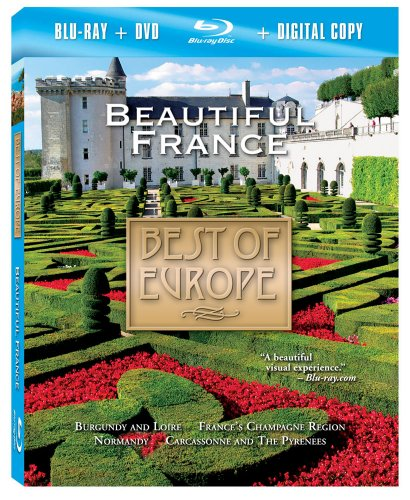 Price comparison product image Best of Europe: Beautiful France (Two-Disc Combo: Blu-ray/DVD/Digital Copy)
