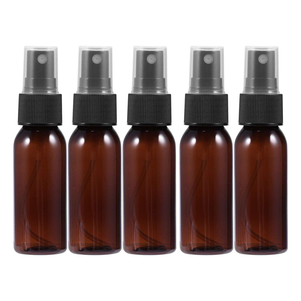 Lurrose 20pcs 30ml Flacone spray vuoto di plastica Make Up Cura della pelle Bottiglia da viaggio ricaricabile