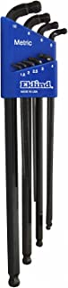 product image for EKLIND 17609 Double-Ball-Hex-L Key allen wrench - 9pc set Metric MM sizes 1.5-10 Extra Long