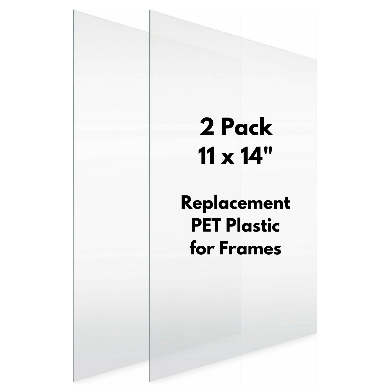 Amazon.com : Icona Bay Flexible Clear Plastic Sheet (11x14 inch, 2 ...