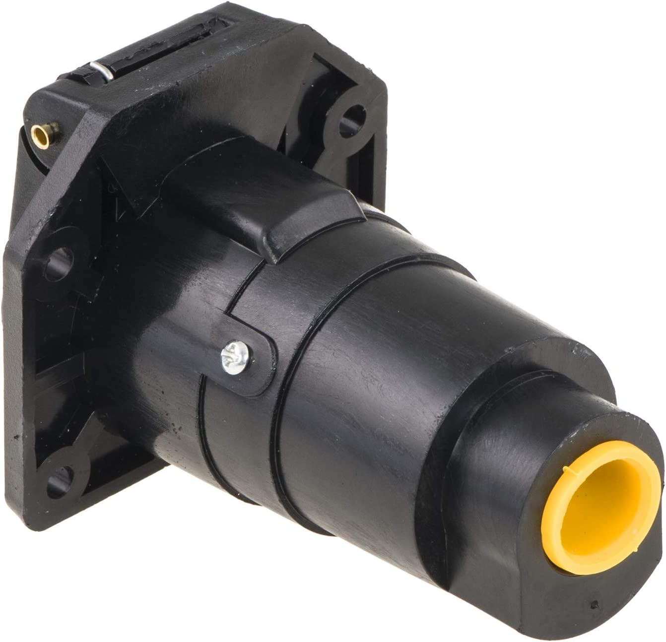 valonic 7 Way Blade Connector Socket for Vehicle Spring-Loaded dust Cover Weatherproof Wiring Harness Connector Truck
