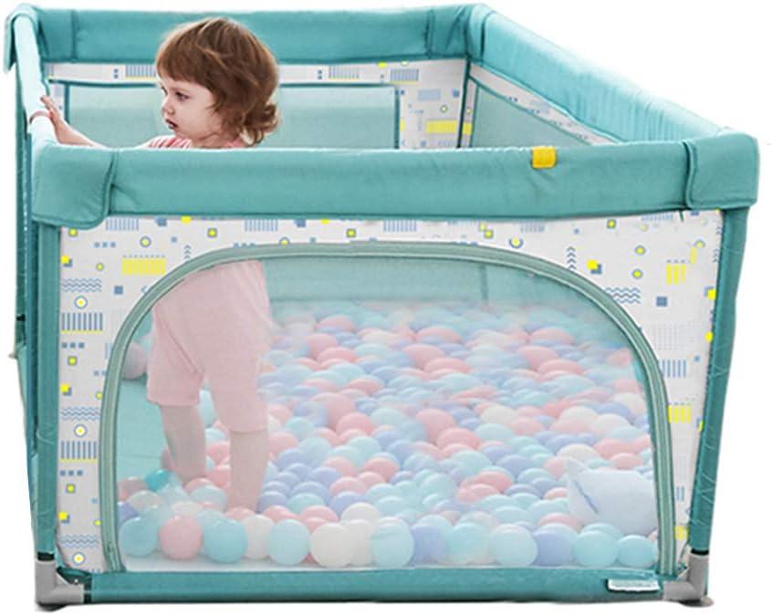 ベビープレイは、安全フェンスを厚く、耐久性のあるベビーベビーサークルのおもちゃの家のパズルゲームセンター城子供の子供の幼児-防水オックスフォード布