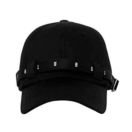 57d1549c Amazon.com : Unisex Solid color Light Baseball Hat Cap with Long ...