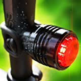 Bold II USB Bike Tail Light, Attention Grabbing Rear Light Runs for 16+ of Protection! Fits All Mountain Bikes, Road Bicycle, Backpacks, Waterproof & Install in Seconds - 100% Satisfaction Guarantee!