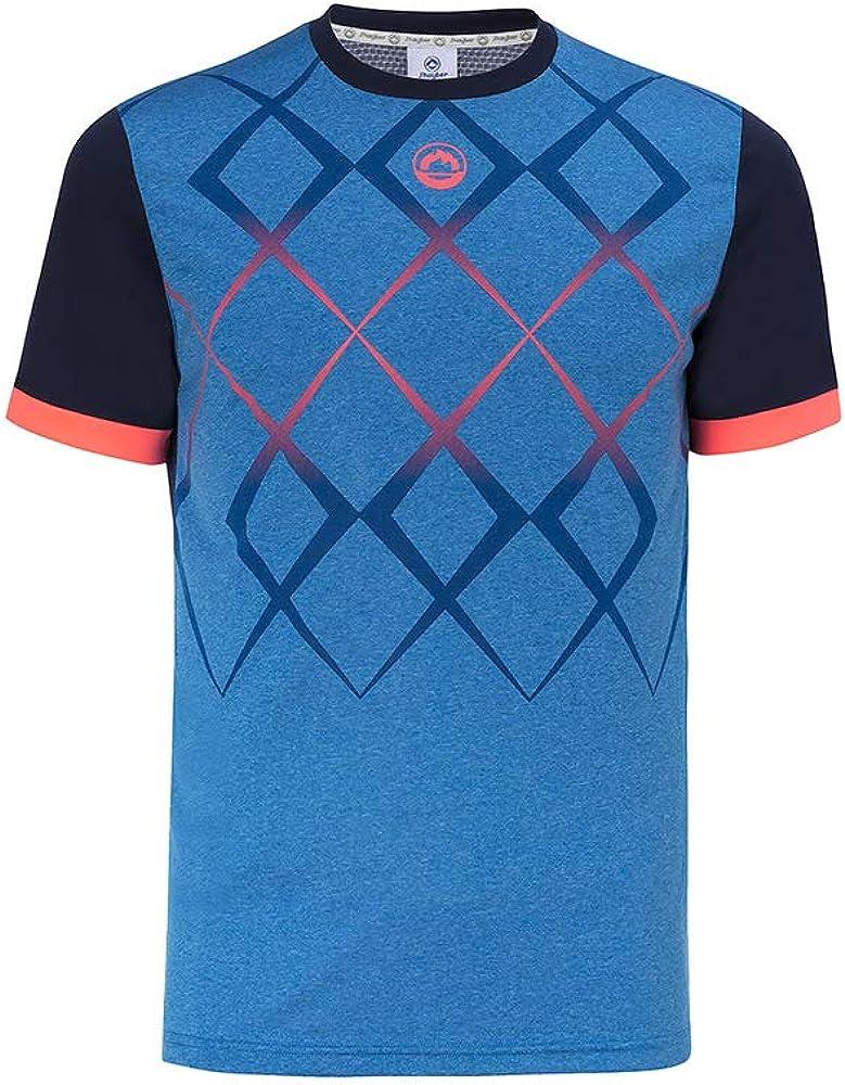 Camiseta J´hayber Pádel Hombre. DA3210 Blue. Talla XL