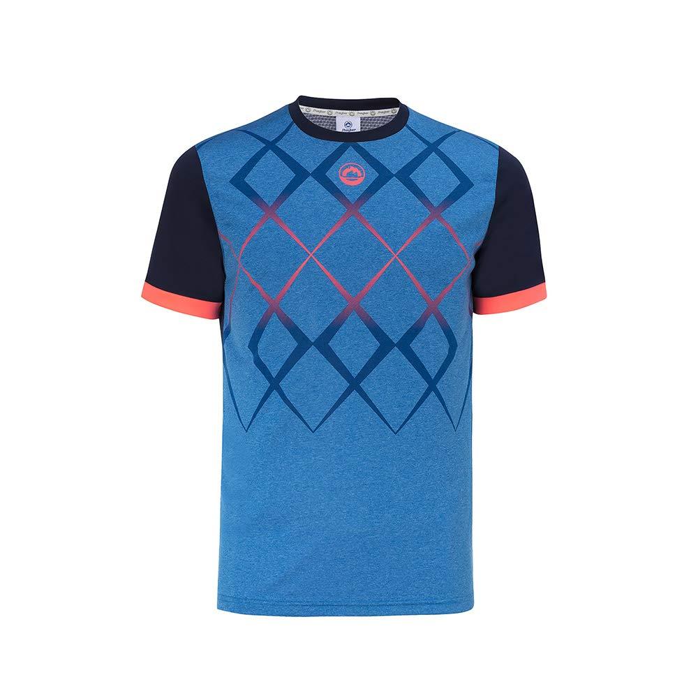 Camiseta JŽhayber Pádel Hombre. DA3210 Blue. Talla XL: Amazon.es ...