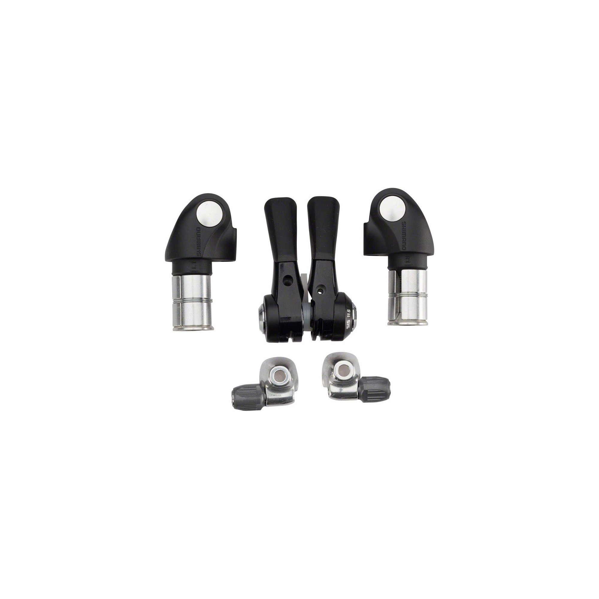 Shimano 2014 DuraAce 11-Speed Barend TT Bicycle Shifters - SL-BSR1 - ISLBSR1H1 by SHIMANO