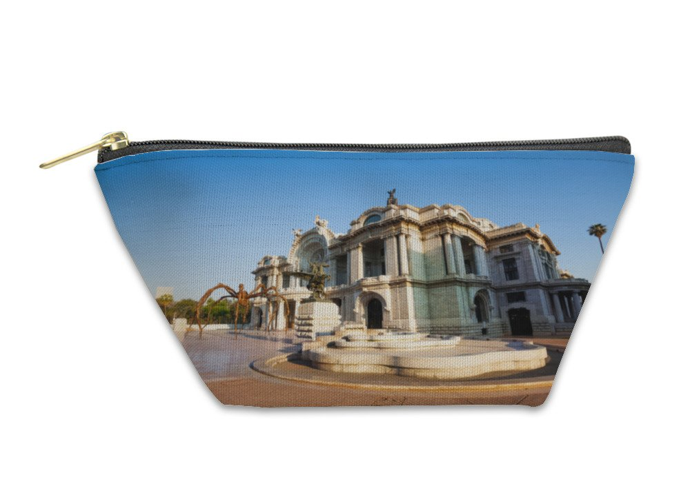 Gear New Accessory Zipper Pouch, Palace Of Fine Arts Mexico City, Large, 5938324GN