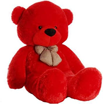 Red Teddy Bear 5 Feet, Buy Nfw Jumbo Teddy Bear 5 Feet Red Online At Low Prices In India Amazon In