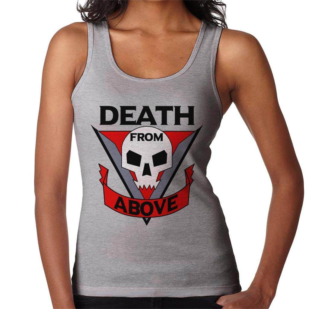 IUTTGH Death from Above Starship Troopers Womens Vest