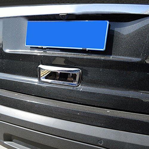 YUZHONGTIAN Tail Rear Fog Light Lamp Cover Trim ABS Chrome for Ford Explorer 2011-2015