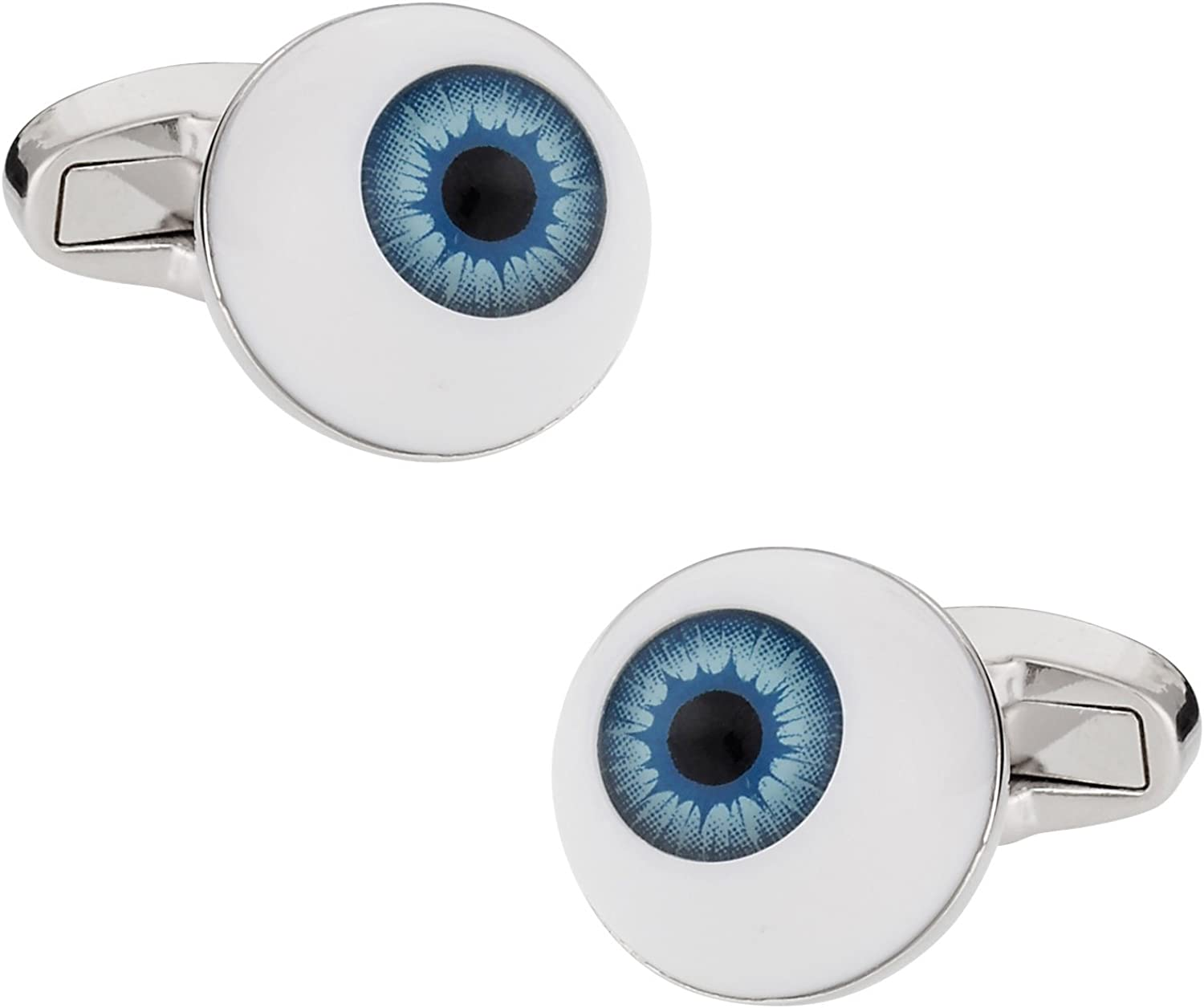 Cuff-Daddy Eyeball Optometrist Cufflinks with Presentation Box