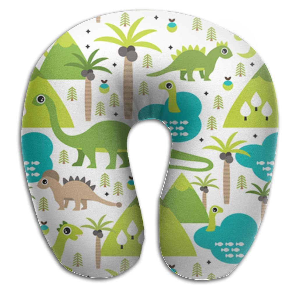 U形状トラベルネック枕ソフト恐竜の旅行ヒップホップUネック枕sleepingfunnyの B0772LB5W6