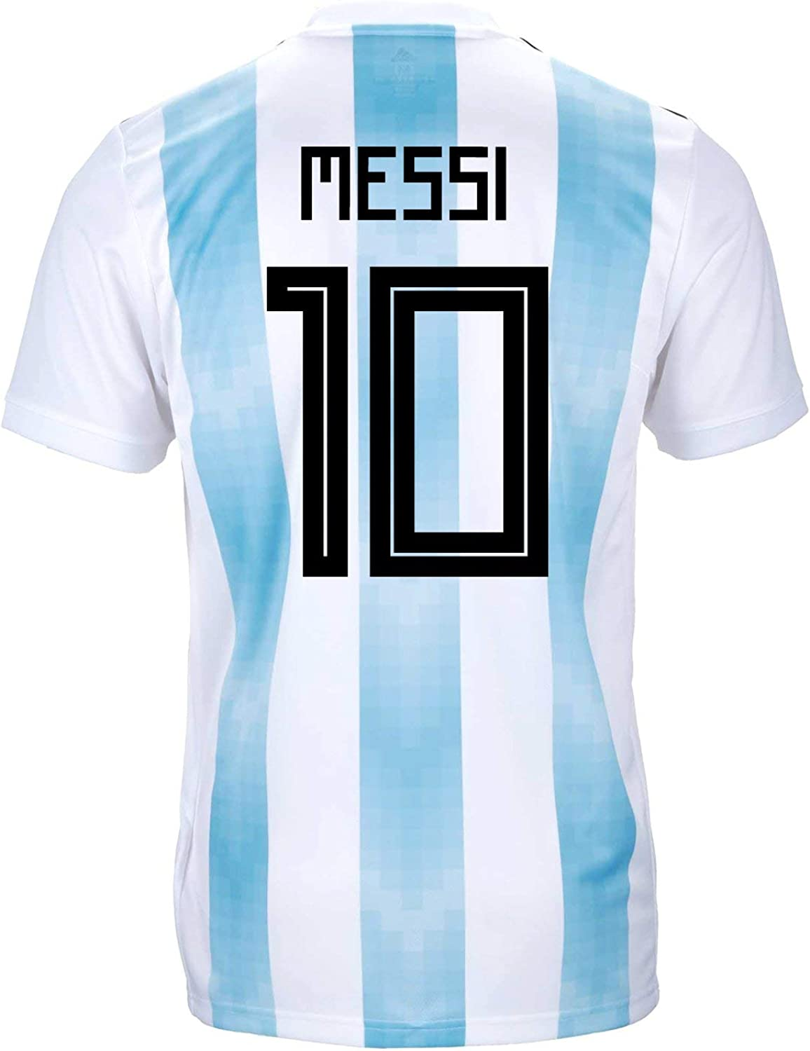 Lionel Messi Home Jersey 2018 World Cup Argentina #10 Soccer Mens Size Medium