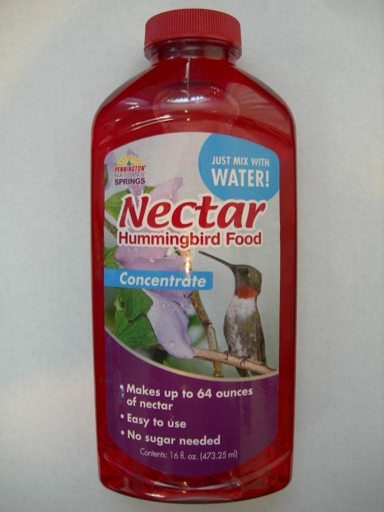 Pennington Natural Springs Hummingbird Nectar Food Concentrate Makes 64 oz