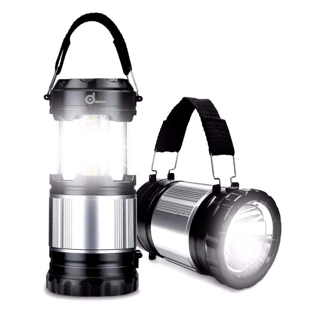 NEW Tent Light Fan Camping LED Lantern Portable Outdoor Hiking Gear Equipment EH