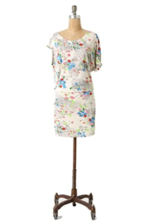 4fefad9b0a0c Anthropologie Leifsdottir Lingonberry Dress Size 6 at Amazon Women's ...