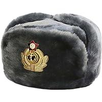 RUSSIAN STORE Cucuba® Unisex Sombreros Pelaje Friso Incluido