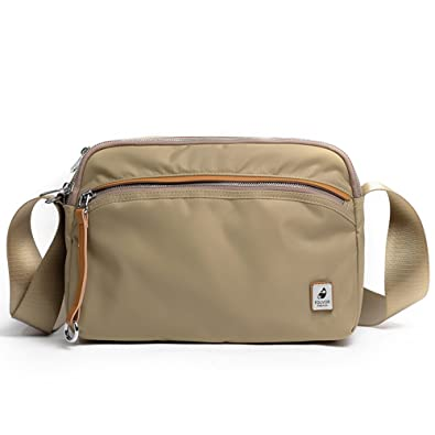 e365bd44f000 Oakarbo Everyday Crossbody Bag Lightweight Waterproof Multi Pockets Travel  Shoulder Bag
