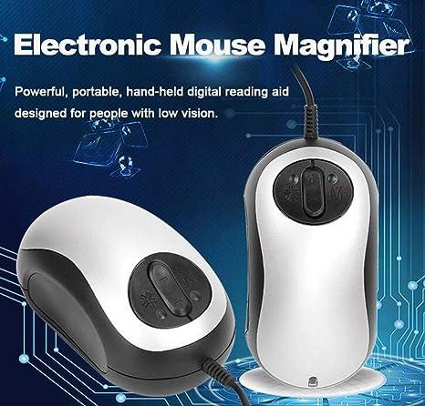ZTYD Magnjfier electrónico del ratón, Lupa electrónica, TV, Lector ...