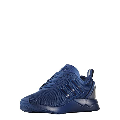 c209d5fd7520 adidas New Mens Gents Blue Originals Zx Flux Lace Ups Trainers - Blue - UK