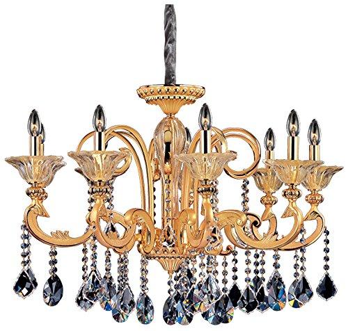 Allegri 10459-016-FR001 Legrenzi 9-Light Chandelier with Two-Tone Gold ()