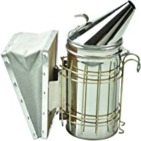 Bee Hive Smoker-Stainless Steel for Beekeeper Heavy Duty with Heat Shield