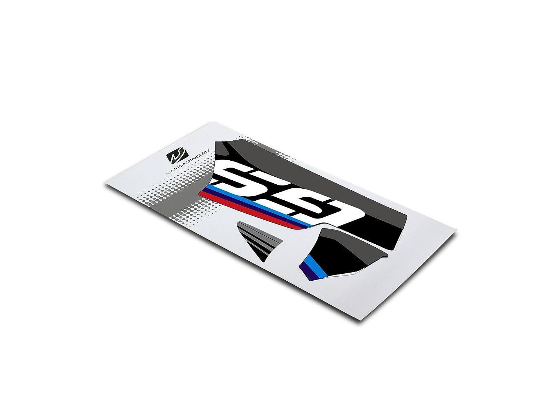 R1200GS Adv Schwinge dekoration schutz aufkleber kit Uniracing  BMW R1200GS LC 13-18 LC 14-18 R1250GS-Adv. schwarz