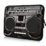 "Boombox Universal 17"" Laptop Bag Case Cover Sleeve For 17.3"" Macbook Pro,HP Compaq HP ENVY 17 3D ,Sony VAIO, Dell XPS,Alienware M17X , Dell Inspiron Toshiba Satellite"