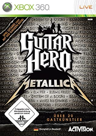 Guitar Hero Metallica Xbox 360 Amazonde Games