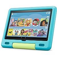 """All-new Fire HD 10 Kids tablet, 10.1"""", 1080p Full HD, ages 3–7, 32 GB, Aquamarine"""
