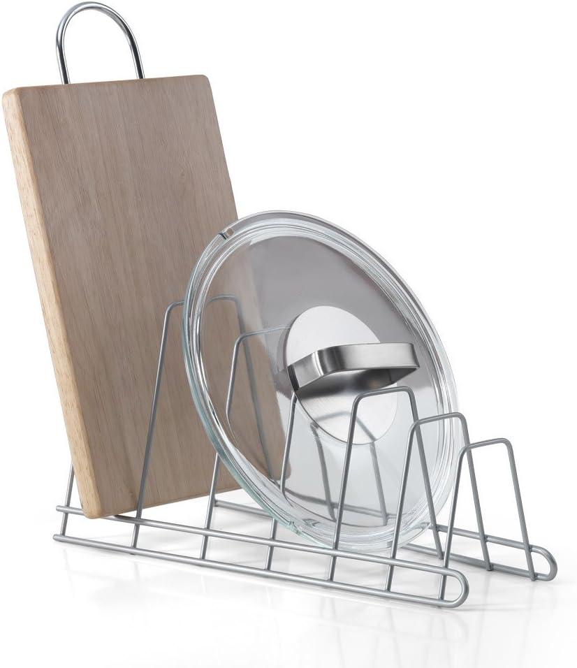 Amazon Com Metaltex 361006 Storage Rack For 6 Lids Kitchen Dining
