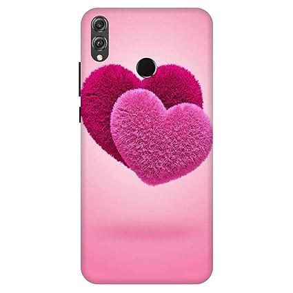 Shopoholics Huawei Honor 8X Back Cover Hard Case: Amazon in