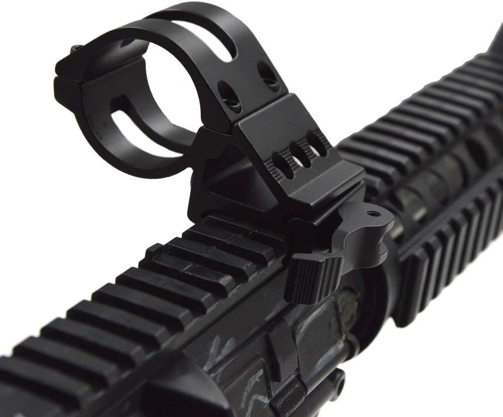 Weapon Light Mount Offset Picatinny Rail For Guns Weapons Tactical Flash SKU1952