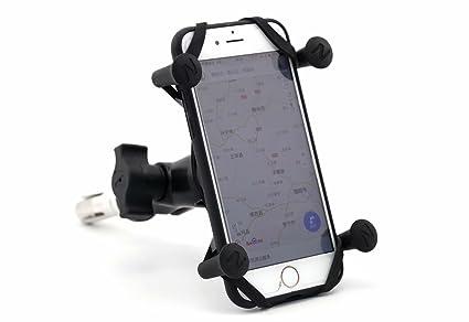 Marco de navegación GPS de la motocicleta Soporte de navegación del teléfono móvil 16-19MM para SUZUKI GSX 1300R HAYABUSA 1999-2007(not include 2000)