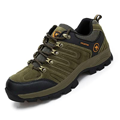 3c camel Men's Walking Sneakers Travel Casual Waterproof Lightweight Running Outdoor Athletic Hiking Brown Shoes | Walking