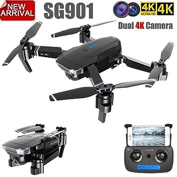 RONSHIN ZLL 2019 Nuevo SG901 Drone de cámara 4K HD Drones de ...