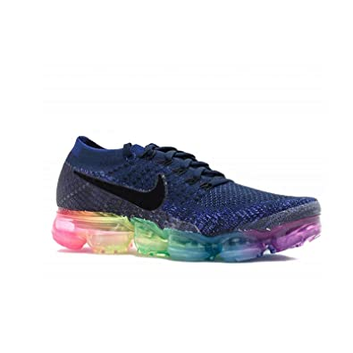 c10f822f71a Men s Air Vapormax Flyknit Running Shoes Vapor Max Running Trainers for Mens  Blue Pink EU40