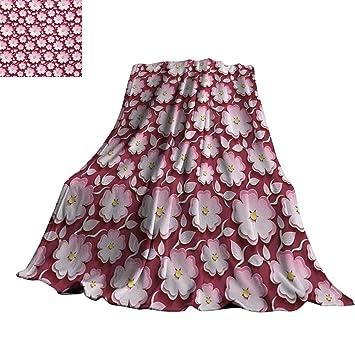 Amazon.com: RenteriaDecor Floral, mantas de loto flor ...