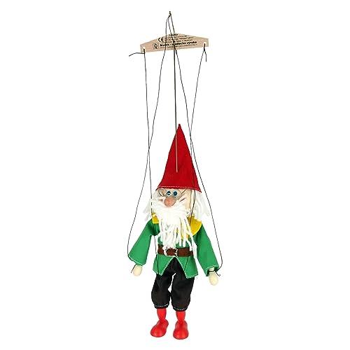 ABA 20cm en bois Nain de Réf Marionnette Jouet (Multicolore)
