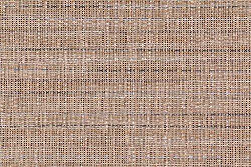 Fabric Sling Patio (Phifertex Wicker Weave Wicker Charm Woven Vinyl Mesh Sling Chair Outdoor Fabric in Stucco)