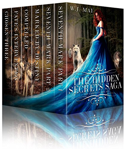 The Hidden Secrets Saga: Complete Series Box Set #1-6: Paranormal Werewolf Fantasy Romance