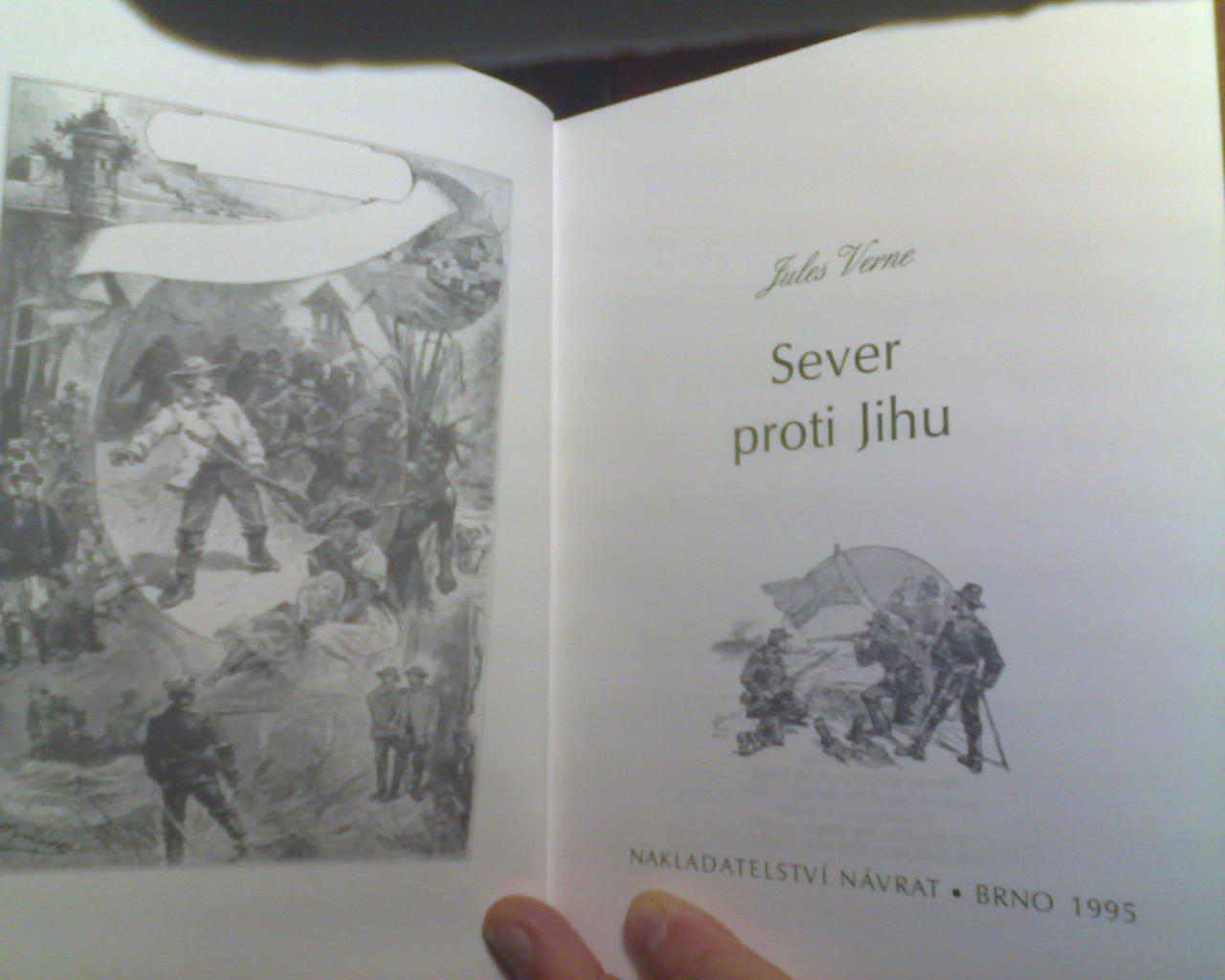 SEVER PROTI JIHU: JULES VERNE, PETR PELIKIAN, NAVRAT, L. BENETT: 9788071745297: Amazon.com: Books