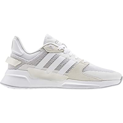 adidas Run 90S White/White/Gre Running Shoes (EE9870): Sports & Outdoors