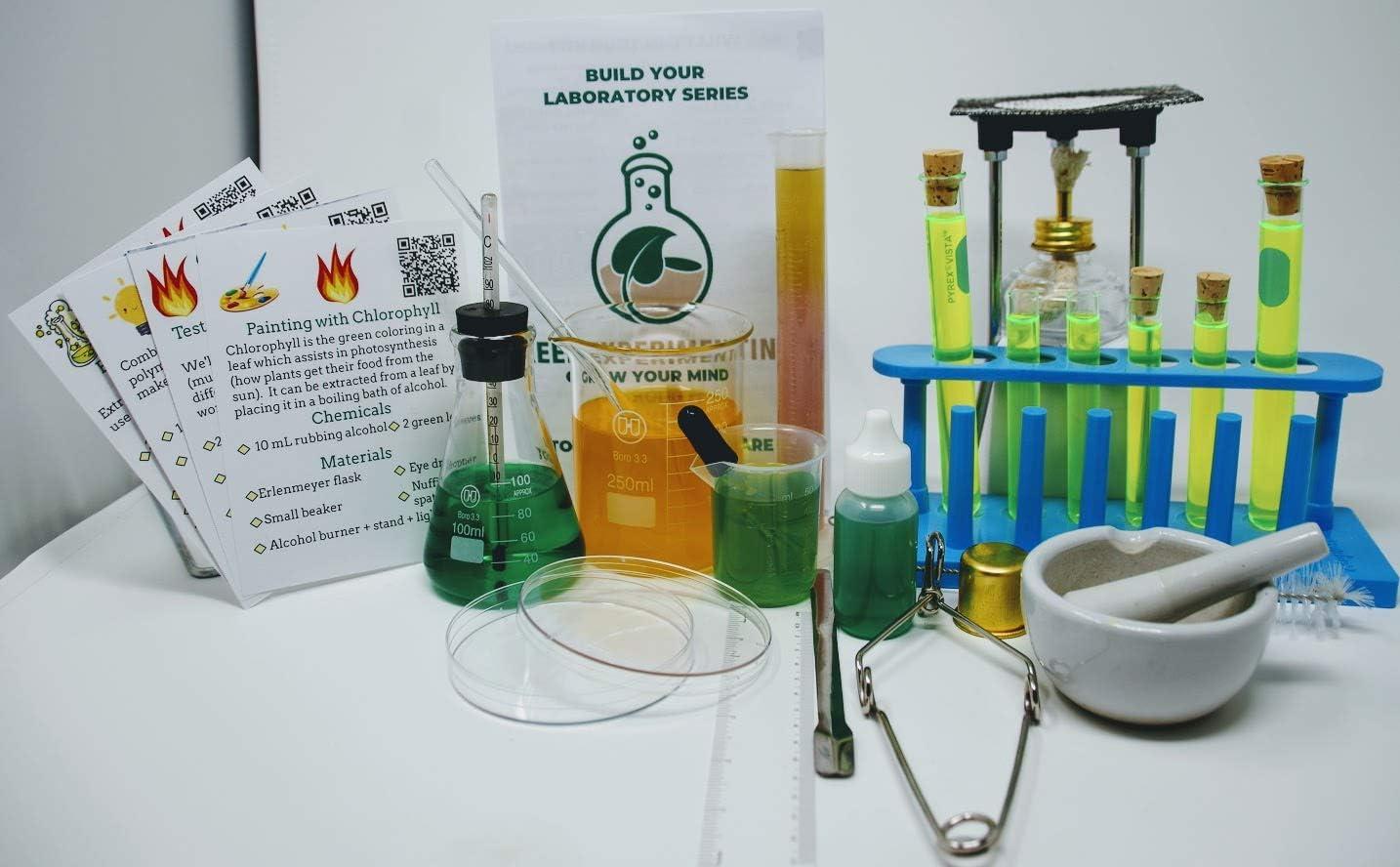 Best Science Supplies Chemistry LAB Set - Basic Professional Equipment