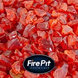 Tangerine – Crushed Fire Glass for Indoor and Outdoor Fire Pits or Fireplaces | 10 Pounds | 3/8 Inch – 1/2 Inch Review